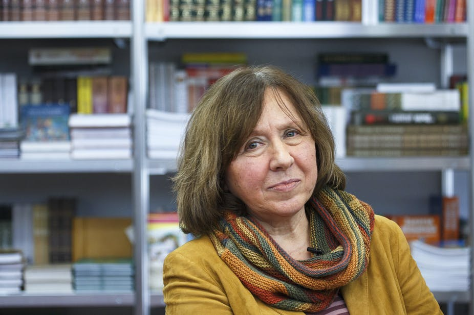 سوتلانا الکسیئویچ