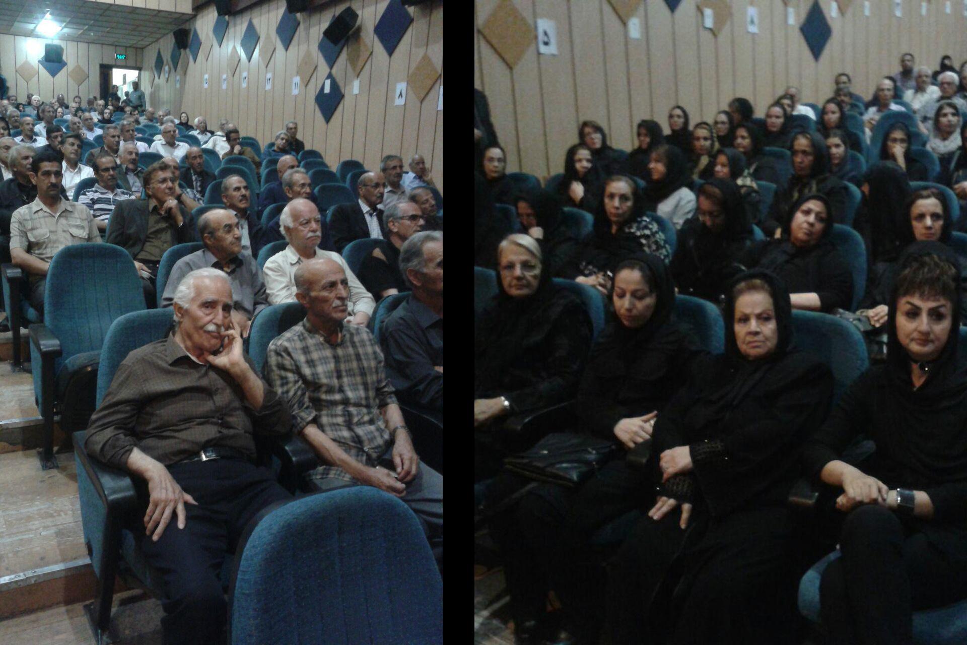 گزارش تصویری «ایشیق» از مراسم یادبود دکتر علیاکبر ترابی در تبریز