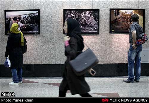 نمایشگاه گروهی ۳۰ عکاس در مورد زلزله آذربایجان