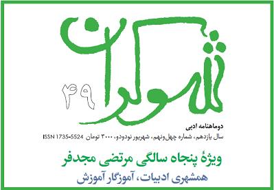 مصاحبه دوماهنامة شوکران با دکتر مرتضی مجدفر